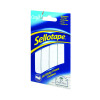 Sellotape Sticky Fixers Strip 25mmx3m 484330