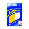 96 x Sellotape Sticky Hook Pads (Permanent, self-adhesive hook pads) 1445170