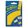 96 x Sellotape Sticky Loop Pads (Permanent, self-adhesive loop pads) 1445184