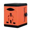 Swordfish VariPlug Univers Travel Adapter Orange 40253