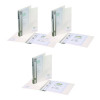 Snopake Polypropylene 2 Ring Binder A4 25mm Clear 3 for 2 (Pack of 20 + 10) SK812399