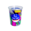 Kevron Standard Key Tags Assorted (Pack of 50) ID5TUB50ASST