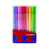 Stabilo Pen 68 Fibre Tip Pen Assorted 6820-03