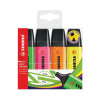 5 Star Office Highlighters Chisel Tip 1-5mm Line Assorted [Wallet 4]