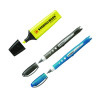 Stabilo Boss Highlighter Pen Yellow (Pack of 10) with Free Worker Rollerball (Pack of 2) SS811662