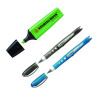 Stabilo Boss Highlighter Pen Green (Pack of 10) with Free Worker Rollerball (Pack of 2) SS811664