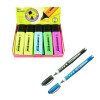 Stabilo Boss Highlighter Pen Assorted (Pack of 10) with Free Worker Rollerball (Pack of 2) SS811666