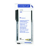 Staedtler 430 Stick Ball Point Pen Green Pack of 10 430M-5