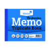 Silvine Carbonless Triplicate Memo Book Blue 102x127mm (Pack of 5) 707