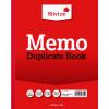 Silvine Duplicate Memo Book 254x203mm (Pack of 6) 602-T