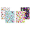 Silvine Marlene West Hearts and Flowers Notebook A4+ (Pack of 4) TWA4MW