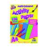 Art Box Activity Paper 100 Sheet A4 Assorted (Pack of 6) TAL05044