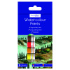 Work of Art Washable Watercolour Paint Tubes Assorted (Pack of 12) TAL06741
