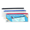 See Through Pencil Case 330 x 125mm (Pack of 12) 300795