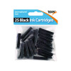 300 x Tiger Black Ink Cartridges, (Ink cartridges for fountain pens) 301105