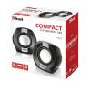 Trust Compact 8 Watt 2.0 speaker set (4 Watt RMS) 20943