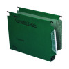 Rexel Crystalfile Classic Lateral 330 Suspension Files 500 Sheet Green (Pack of 25) 70672