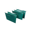 Rexel Multifile Foolscap Green 15mm Suspension File Pack of 50 78008