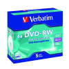 Verbatim DVD-RW 4X 4.7GB (Pack of 5) 43285