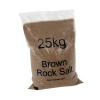 20 x Dry Brown Rock Salt 25kg Bag (Conforms to BS 3247 for official use) 384072