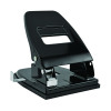 Black Heavy Duty Metal Hole Punch 40 Sheet WX01236