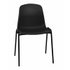 Stock Economy Poly Chairs - Black