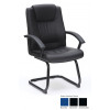 Amber Medium Back Visitor Chair In Pu