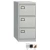 Bisley 3 Drawer Filing Cabinet Goose Grey