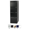 Jemini 4 Drawer Filing Cabinet Grey