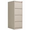 Jemini Light Grey 4 Drawer Filing Cabinet (Dimensions: W470 x D622 x H1321mm) KF20044