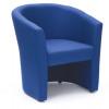 Encounter Tub Chair In Blue Fabric