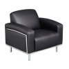 Moonstone Single Seat Bonded Leather Chair