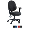 Prism Operator Chair Red Syncro Mechanism