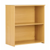 Eco 18 Premium Bookcase inc. 1 Shelf - Oak