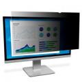 3M Black Privacy Filter For Desktops 19in Widescreen 16:10 PF19.0W