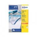 Avery Ultragrip Labels 105x37mm 16 Per Sheet Wht (Pack of 1600) DPS16-100