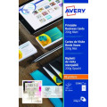 Avery Multipurpose Business Cards Matte White (Pack of 250) C32011-25
