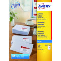 Avery Inkjet Address Labels 14 Per Sheet Wht (Pack of 1400) J8163-100