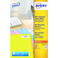 Avery Laser Mini Labels 45.7 x 25.4mm White (Pack of 1000) L7654-25