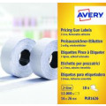 Avery Two-Line Price Marking Label White 16x26mm(Pack of 12000) WR1626