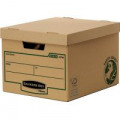 Bankers Box R-Kive Earth Storage Box Brown (Pack of 10) 4470601