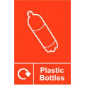 Spectrum Industrial Recycle Sign Plasticbottle 150x200mm SAV 18160