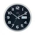Acctim Supervisor Wall Clock 320mm Chrome/Black 21023