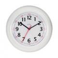 Acctim Wexham 24 Hour Plastic Wall Clock White 21862