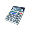 Aurora Grey 8-Digit Semi-Desk Calculator DB453B