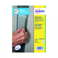 Avery Removable A4 Antimicrobial Film Labels (Pack of 40) AM004A4