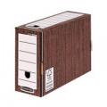 Bankers Box Premium 127mm Transfer File Woodgrain (Pack of 5) 5305