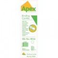 Fellowes Apex Plastic Binding Combs 10mm White (Pack of 100) 6200401
