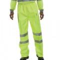 Hi-Viz Trousers EN ISO20471 S/Yellow XL BITSYXL