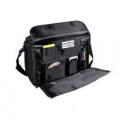 Monolith Polycanvas Pilot Case with Organiser Compartment Black 2168